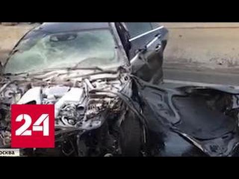 Расследование аварии на МКАД приняло неожиданный поворот. Виновен пострадавший?