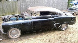 1951 Buick Special 2-Door Deluxe Sedan Custom Chop Top Build Project