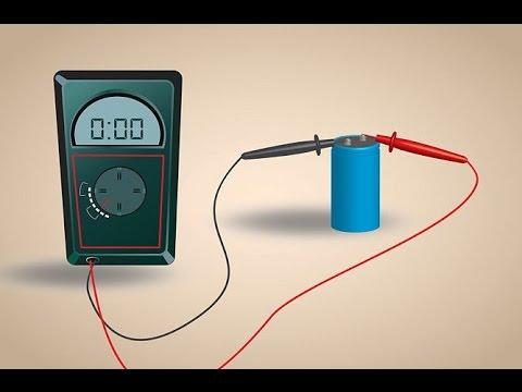 Видео как проверить работу конденсатора