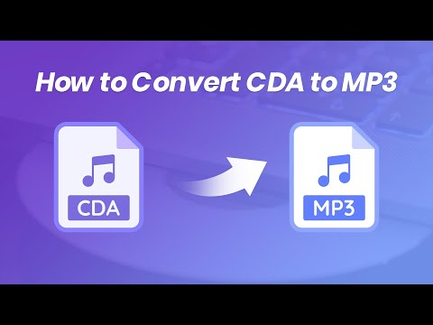 How to Convert CDA to MP3