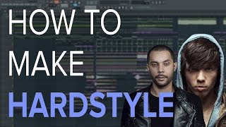 How To Make HARDSTYLE - FL Studio Tutorial 🔥