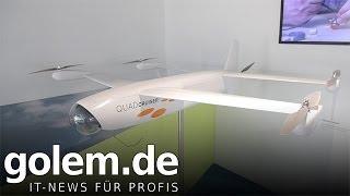 Airbus zeigt Quadcruiser mit fünf Rotoren