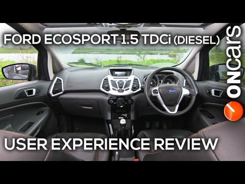 Ford EcoSport 1.5 TDCi (Diesel) Titanium (O) User Experience Review by OnCars India