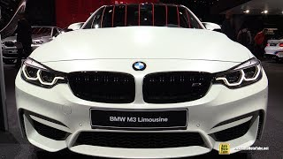 2018 BMW M3 - Exterior and Interior Walkaround - 2017 Frankfurt Auto Show