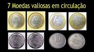 7 moedas valiosas que estão em circulação que podem ser sua