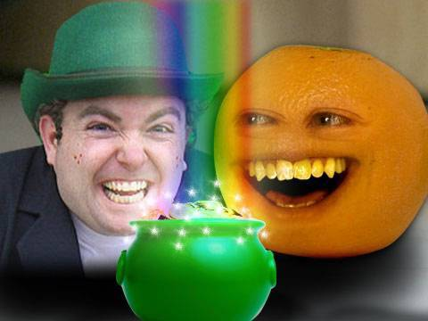 Annoying Orange - Luck o' the Irish