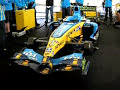 Renault F1 Car playing God Save The Queen