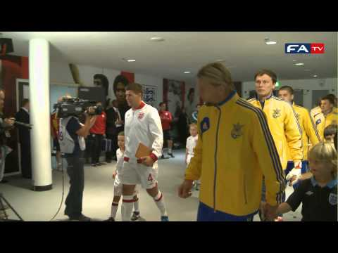 England 1-1 Ukraine - Tunnelcam Highlights - FIFA World Cup 2014 Qualifier | FATV