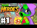Plants vs. Zombies: Heroes - Gameplay Walkthrough Part 1 - Gr...