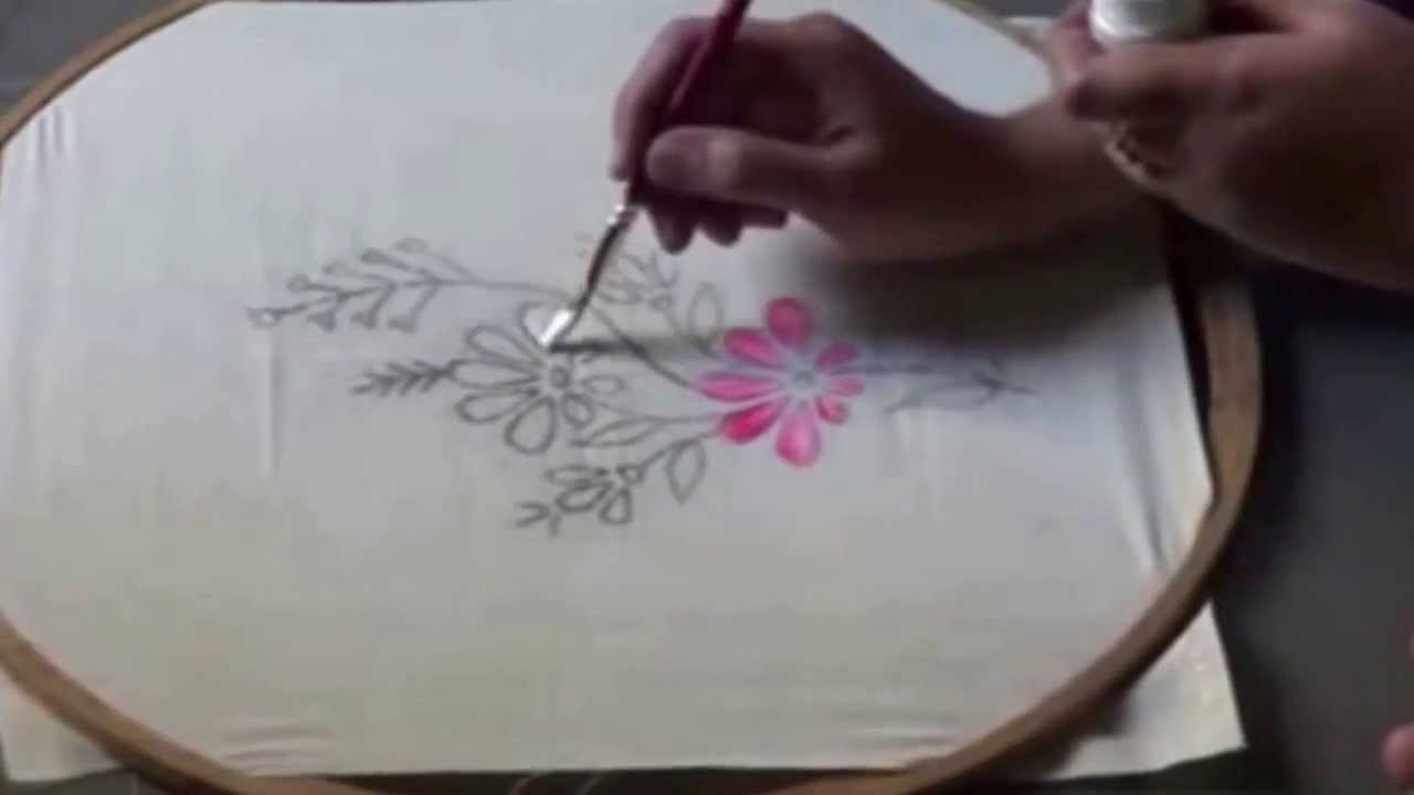 Hand Painting Fabric Techniques