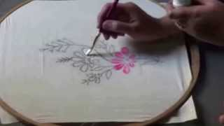 FABRIC PAINTING IN TELUGU