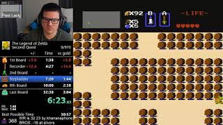 *NEW WORLD RECORD* (32:22) The Legend of Zelda - Second Quest