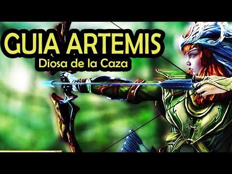 GUIA DE ARTEMIS - SMITE / Español