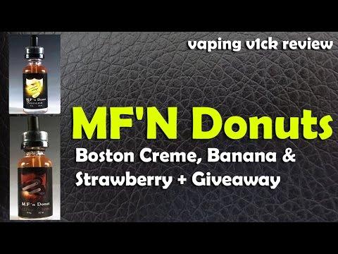 MF'N Donut - Boston Creme Strawberry Banana + Giveaway
