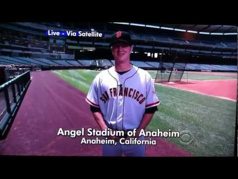 The Late Show Top 10 with S.F. Giants Pitcher Matt Cain
