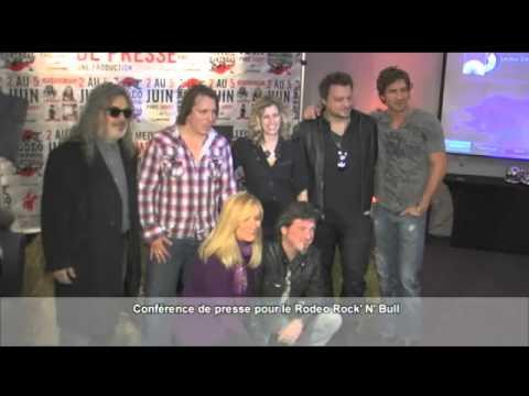 Conférence de presse Rock'n'Bull - Hôtel W, Montréal 30 mars 2011