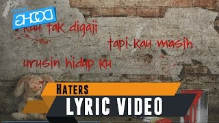 Z-LOW DZ - Haters (ft. ECKO SHOW & A.T) [ Lyric Video ]