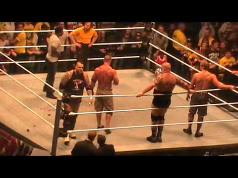 Wwe Live Nottingham 2013 John Cena Birthday video