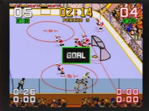 Mario Lemieux Hockey Genesis Mario Lemieux Ice Hockey Sega