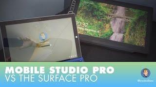 Wacom Mobile Studio Pro vs The Surface Pro