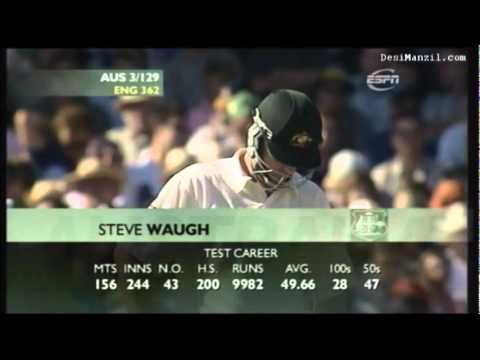 Steve Waugh's Perfect Day. Century vs England Sydney 2003