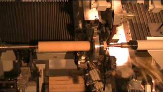 GH-Tec Challenge 2000 Holzkopierdreh-Vollautomat / Fully Automatik CNC Copying Lathe / 木材車床