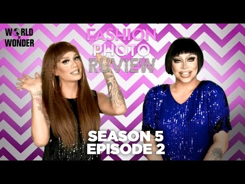 RuPaul's Drag Race Fashion Photo RuView with Raja and Raven: Season 5 Episode 2