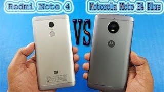 Comparison between Motorola Moto E4 Plus and Redmi Note 4