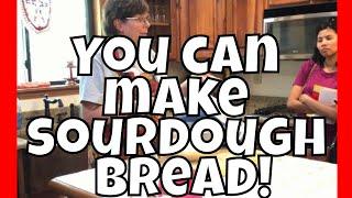 How to Make Sourdough Bread   The Homestead Center   Starkville, MS