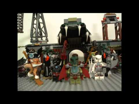 Lego Legends Of Chima episode 4 The Temple Attack!!