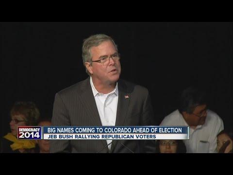 Jeb Bush stumps in Colorado for GOP