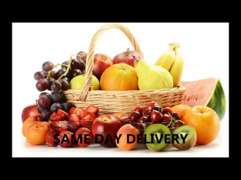 ORGANIC FRUIT BASKET FLORIST NEW YORK CITY SAME DAY DELIVERY