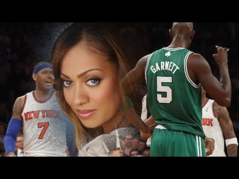 more on Carmelo Anthony and LaLa exposed did Kevin Garnett cross the line