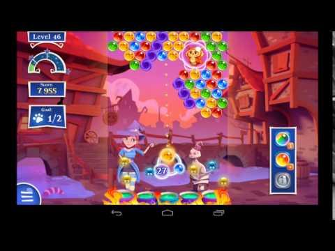 Bubble Witch Saga 2 Level 46 - 3 Star Walkthrough