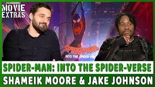 SPIDER-MAN: INTO THE SPIDER-VERSE | Shameik Moore & Jake Johnson talk about the movie
