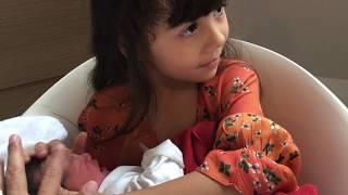Baby Nicole'e Geboortedatum! Geboorte Baby Girl VLOG