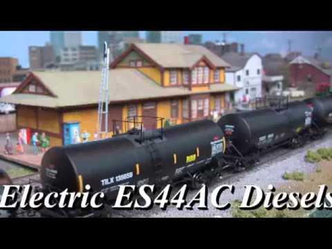 Roger's Railroad Junction December 2013 Video