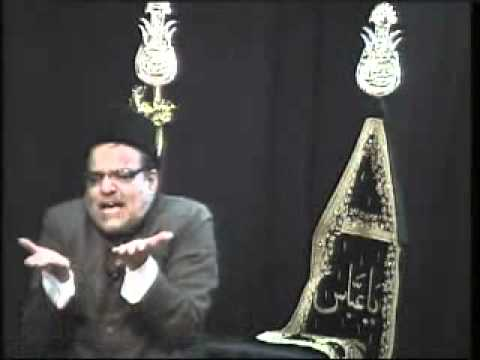 Majlis In Urdu At Iec Husaini Chicago 1-15-12 Azadari 2012 1433 Maulana Abid Bilgrami video