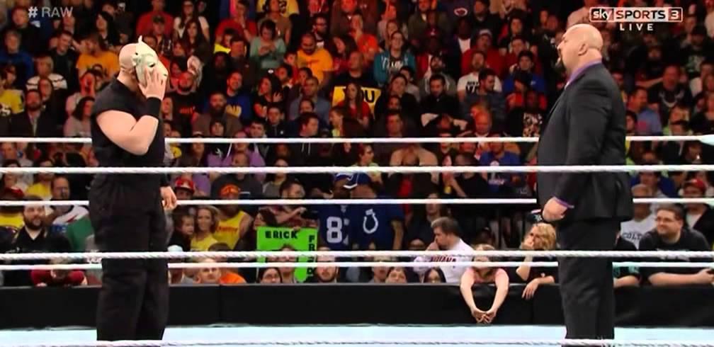 Erick Rowan attacks Big Show - WWE Raw, November 24, 2014 - YouTube