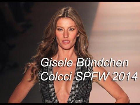 Gisele Bündchen - Colcci SPFW Inverno 2014