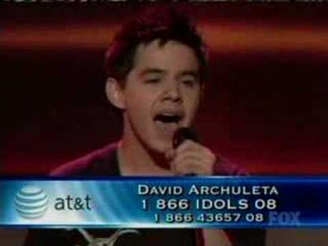 David Archuleta - Stand By Me (5-6-08)