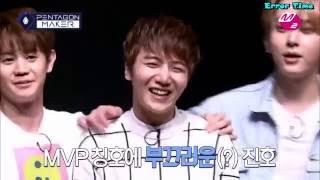 [INDOSUB] PENTAGON MAKER pemilihan MVP Pentagon oleh Yang Yoseop and Yong Junhyung BEAST