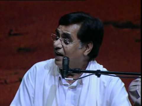 Tera chehra kitna suhana lagta hain Live HQ Kaif Bhopali Jagjit...