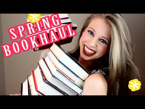 CHRISTINE'S SPRING BOOK HAUL