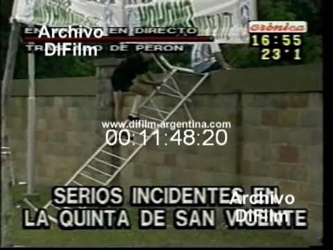 DiFilm - Traslado de los restos de Peron a la quinta de San Vicente (2006)
