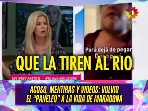 VOLVIO EL PANELEO A LA VIDA DE MARADONA 29 10 14