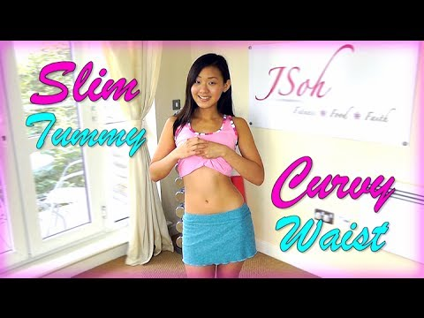 Slim Curvy Waistline Exercises (Hourglass Figure)