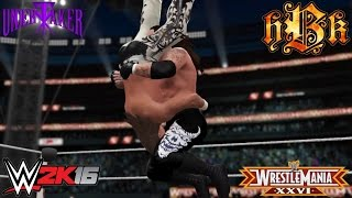 The Undertaker ends Shawn Michaels