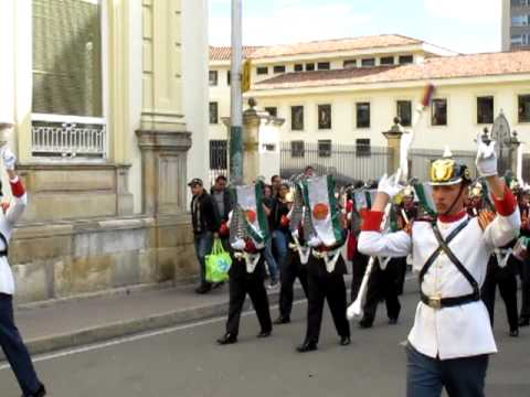 Changing of the Guard - Bogota, Colombia