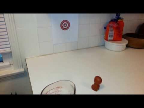 Pee Pee Boy Target Practice - Trying To Hit Bullseye - Tea Custom Clay Figurine From China video